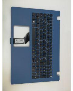 Acer Original LV5T_A50B 0G Tastatur inkl. Topcase DE, Blau, für Aspire Serie