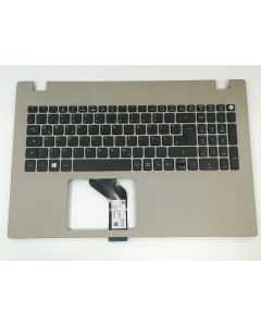 Acer Original LV5T_A50B 0G Tastatur inkl. Topcase DE, Grau, für Aspire Serie