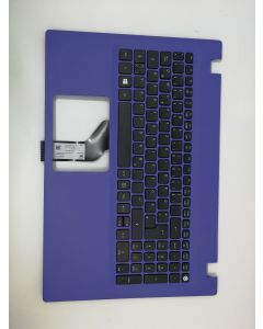 Acer Original LV5T_A50B 0G Tastatur inkl. Topcase DE, Lila, für Aspire Serie