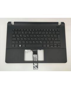 Acer Original NSK-R74SW 0G Tastatur inkl. Topcase DE, Schwarz, für Aspire Serie