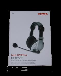 ednet Multimedia Headset mit Mikrofon