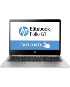 HP EliteBook Folio G1 Intel m5-6y57 1,10 GHz. 128 GB SSD 8 GB DDR4 RAM Win 10 Home German keyboard LED Backlight W-Lan Web Cam TouchScreen, USB C 5 Port