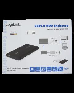 LogiLink USB 2.0 HDD IDE Festplattengehäuse