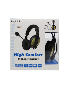 LogiLink High Comfort Stereo Headset