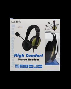 LogiLink High Comfort Stereo Headset