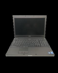 "Dell Precision M4800, 15,6"" TFT i7-4700MQ 2,40GHz. 512 GB SSD 12 GB RAM Win 10 Pro #1"